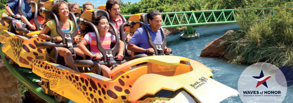 Busch Gardens Offers Free Military Admission In 2016 Busch Gardens Military Discounts Busch