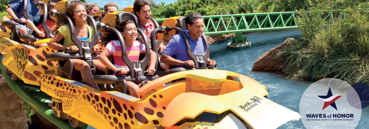 Busch gardens waves of honor current military free - Busch gardens tampa promo code 2017 ...